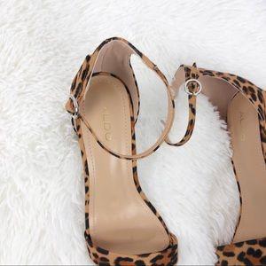 Aldo Block Heel Sandals 6.5